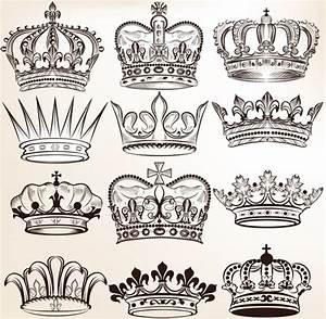 Royal crown vector graphic logo free vector download ...