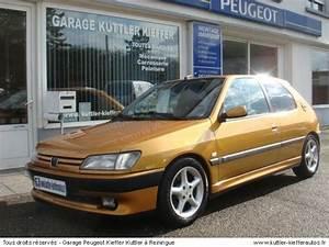 Peugeot 306 Occasion : peugeot 306 s16 bv6 premium 1996 occasion auto peugeot 306 ~ Medecine-chirurgie-esthetiques.com Avis de Voitures