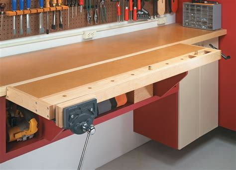 wall workshop woodworking project woodsmith plans