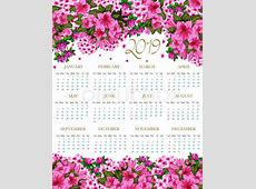 2019 Template Cute Printable Calendar Template October