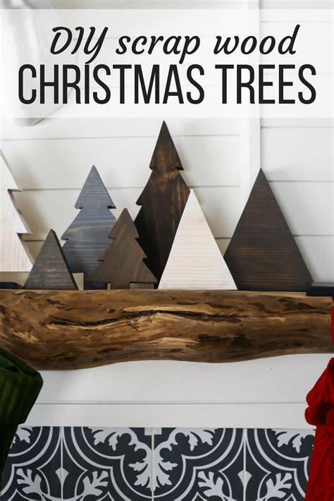 diy scrap wood christmas trees love renovations