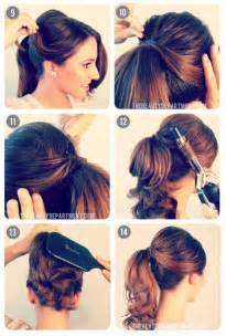 50s Ponytail Hairstyles for Long Hair