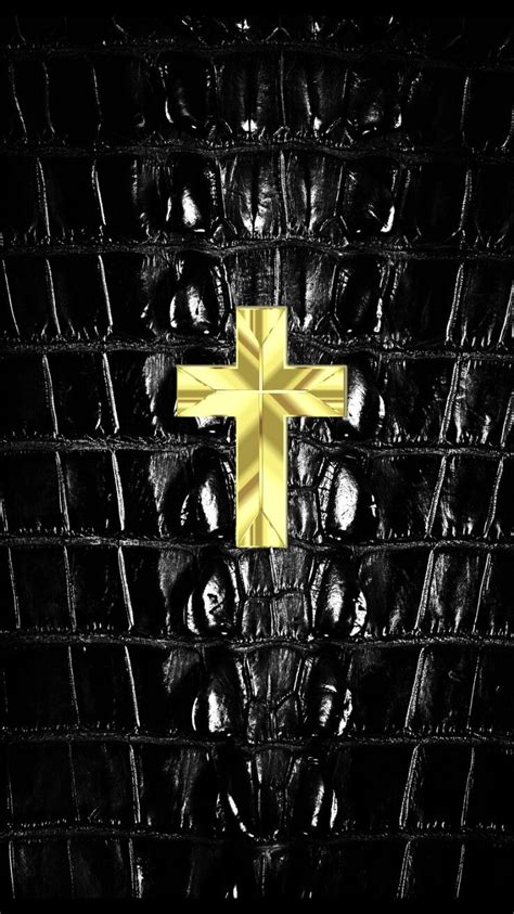 Black Wallpaper Iphone Cross by Small Gold Cross On Skin Iphone Wallpaper Iphone
