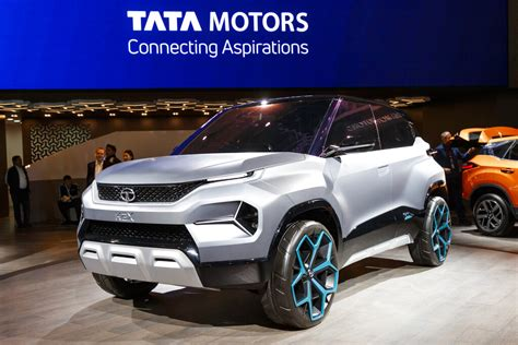 Tata Motors, M&m Unveil Electric Concept Cars At Geneva