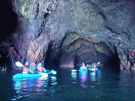 painted cave kayak picture of santa barbara adventure