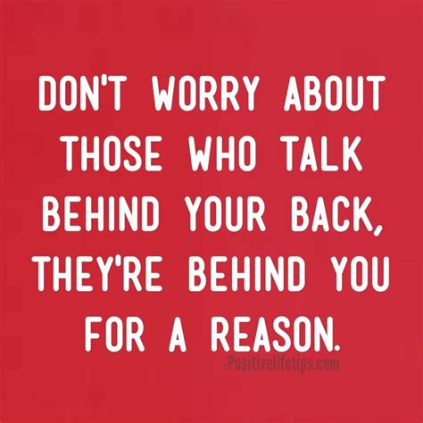 Quotes About People Talking Behind Your Back  Sayings