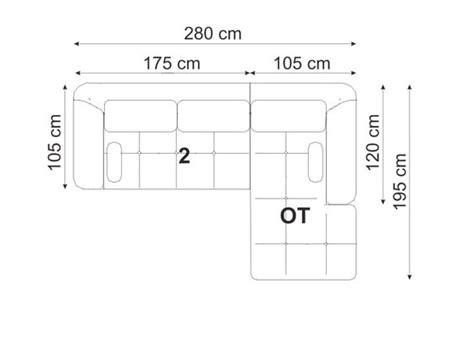 plan canapé canapé d 39 angle cuir quot tess quot 6 8 places marron angle