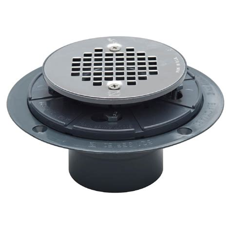 shower strainer sioux chief 2 in pvc shower drain with strainer 821 2ppk