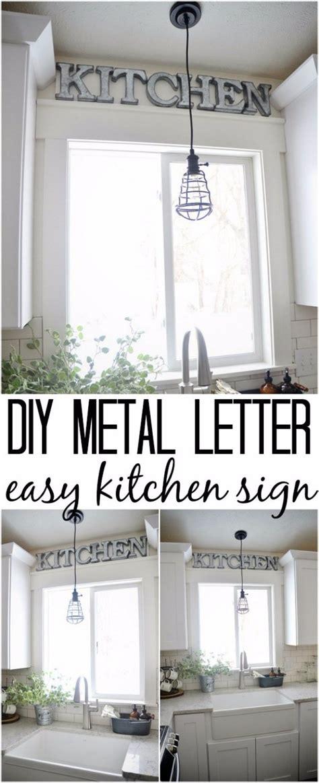 32 Creative DIY Decor Ideas for Your Kitchen   DIY Joy