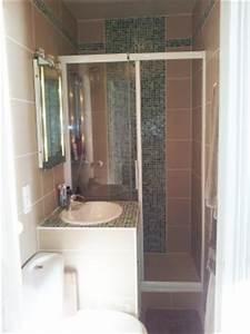 Douche Petit Espace : petite salle de bains astuces pour l 39 am nager ~ Voncanada.com Idées de Décoration