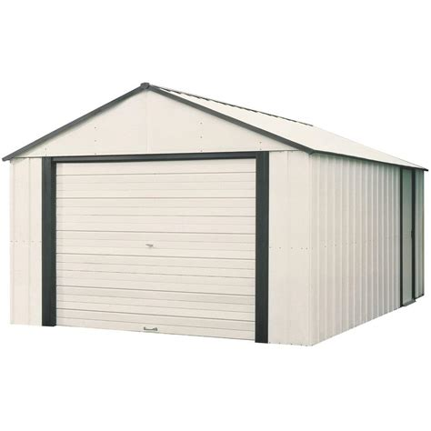 Garage Storage Shed by Arrow Murryhill 12 Ft X 10 Ft Vinyl Coated Garage Type