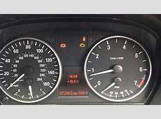 BMW 1 & 3 Series Flashing Check Engine Warning Light