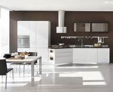 New Design Of Kitchen Cabinet by New Modern Kitchen Design With White Cabinets Bring From Stosa DigsDigs