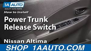 How To Install Power Trunk Release Switch 02