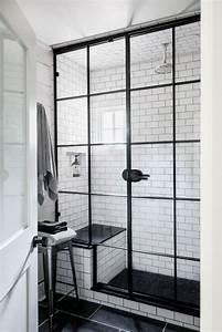la verriere atelier dans la salle de bains 26 idees With salle de bain design avec oiseaux décoratifs en métal