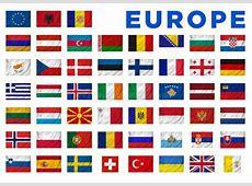 Banderas de Europa stock de ilustración Ilustración de