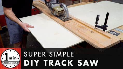 super simple track  diy table