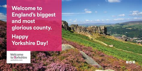 Happy Yorkshire Day to all our... - Welcome to Yorkshire ...