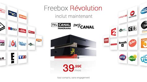 chaine cuisine canalsat l 39 offre freebox révolution inclut canalsat pour 39 99
