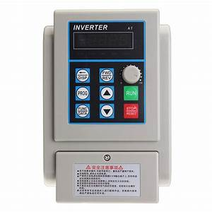 2 2kw 220v Single Phase Input Three Phase Out Inverter Variable Frequency Inverter Pwm Control