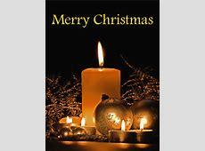 Holy Night Christmas Candle Card Birthday & Greeting