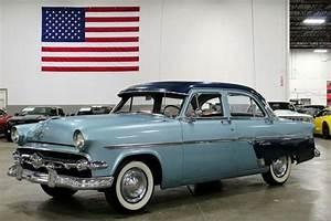 1954 Ford Customline 89502 Miles Blue 289ci V8 Manual For