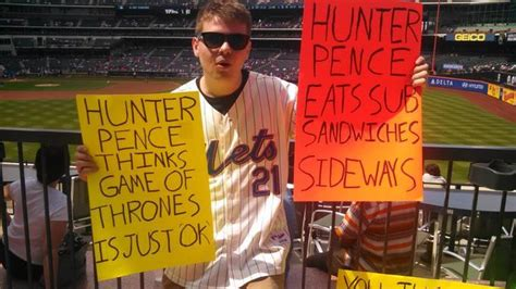 Hunter Pence Memes - image 807475 hunter pence signs know your meme