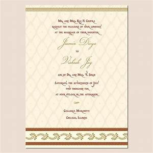 wedding invitation wording wedding invitation templates hindu With indian wedding invitation word format