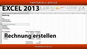 Excel Rechnung Mit Kundendatenbank : rechnung quittung erstellen ganz einfach excel youtube ~ Themetempest.com Abrechnung