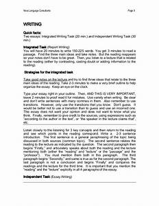 toefl ibt independent essay samples 28 toefl ibt essay With toefl writing template independent