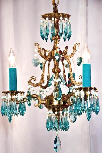 turquoise chandeliers vintage farmhouse the turquoise chandelier