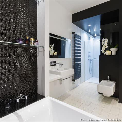 photo chambre parentale avec salle de bain et dressing verriere salle de bain chambre