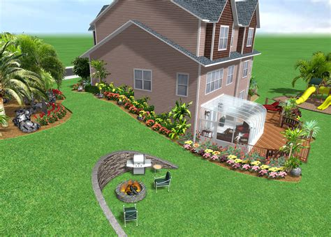 Home Yard Design Software : Home Landscape Software Features