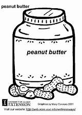 Peanut Butter Coloring Peanuts Printable Pages Characters Worksheets Edupics sketch template