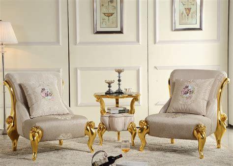 European Style Classical Single Sofa Living Room Fashion