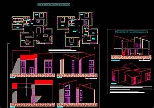 telecharger plan maison contemporaine 161 fichier With plan de maison dwg gratuit