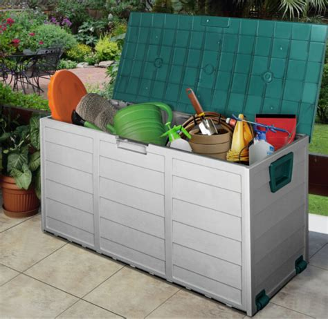 outdoor storage cabinets lockable storage box waterproof