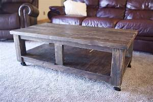 pottery barn knockoff coffee table shanty 2 chic With barn style coffee table