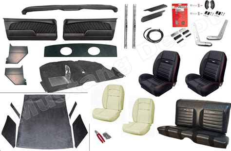 Upholstery Kit by Classic Mustang Tmi Sport R Upholstery Kit Free Shipping
