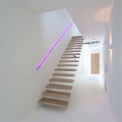 Handrail Staircase Led Lights Lighting Changing Change