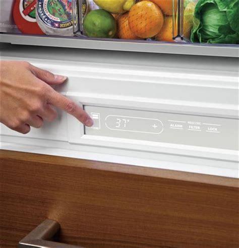 zicgnhii monogram  integrated customizable refrigerator  single  dual installation