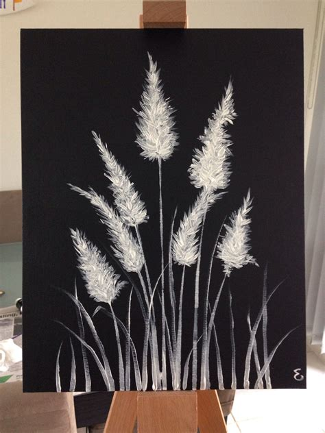 Paper is versatile and capable of amazing things but doesn't quite compare to the peculiar frisson of excitement that runs through you as you lay paintbrush to canvas for the first time. Black And White Canvas Painting at PaintingValley.com   Explore collection of Black And White ...
