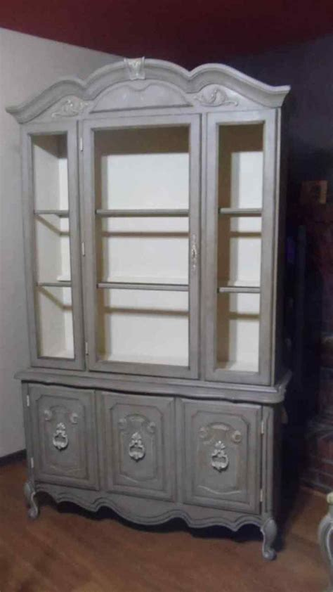 Hutch Painting Ideas by China Cabinet Painted China Hutch Ideas On