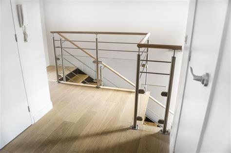 garde corps pour escalier interieur garde corps inox designr 233 novation et cr 233 ation de garde corps pour escalier m 233 tal d int 233 rieur