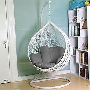 hanging chair outdoor amazoncouk With tips for choosing perfect indoor swing chair