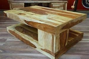 Couchtisch Holz Natur : couchtisch tisch holz massiv natur honig landhausstil 110x70x40 ~ Markanthonyermac.com Haus und Dekorationen