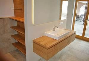 Waschtisch Holz Rustikal : waschtisch eiche ~ Frokenaadalensverden.com Haus und Dekorationen