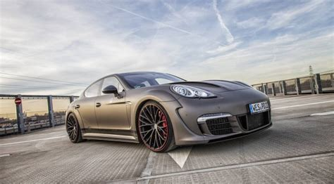 official porsche panamera widebody  prior design gtspirit