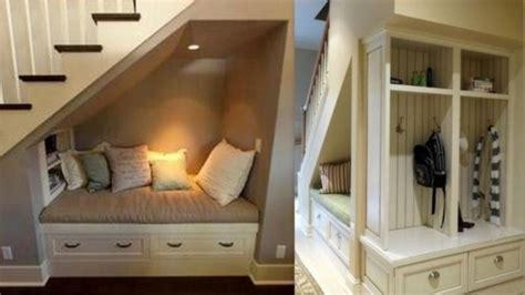 banquette canapé optimiser l 39 espace d 39 un escalier