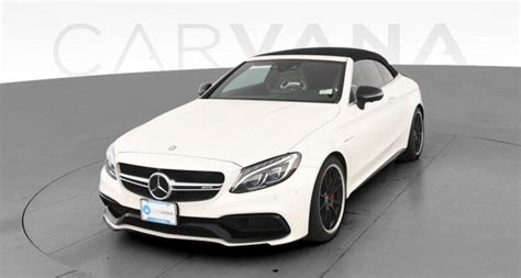 Mercedes me is the ultimate resource, putting control of your vehicle in the palm of your hand. Used 2017 Mercedes-Benz Mercedes-AMG C-Class Convertible for sale in Lansing, MI | Carvana